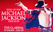 This Is It Michael Jackson banner