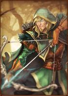 Hero Warrior Ranger portrait