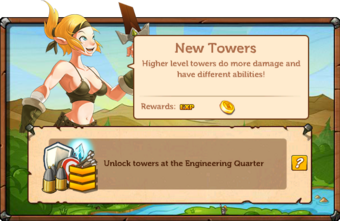 Main Quests - New Towers