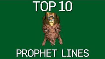 The Top 10 Prophet Lines