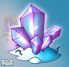 P Ice GemShard
