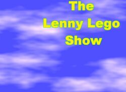The Lenny Lego Show official logo 2