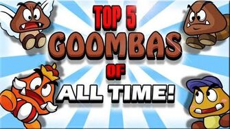 Top 5 Goombas of all Time - The Lonely Goomba-0