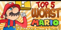 Top 5 Worst Mario Powerups - The Lonely Goomba