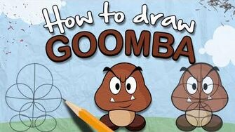 How to Draw a Goomba - The Lonely Goomba-0