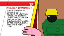 Tuesday 8 November
