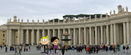 Richard and Veronica at St. Peter's Square