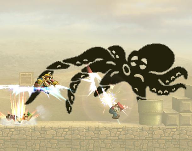 File:Octopus Smash Screenshot - Super Smash Bros Brawl.png