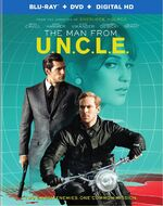 The Man from U.N.C.L.E. (film) Blu-ray front cover