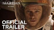The Martian Official Trailer HD 20th Century FOX-0
