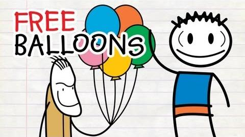 The Misfortune Of Being Ned - Free Balloons