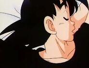 Goku sleeping
