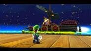 Luigi fighting bowser jr