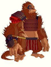 Samurai Gorilla