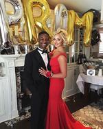 Lamar Johnson and Victoria Baldesarra.Prom