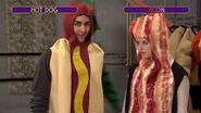 The Next Step - Battlez Hot Dog James vs Bacon Chloe