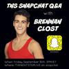 Brennan september 2016 snapchat takeover