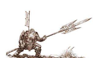 Red dwarf legionnaire