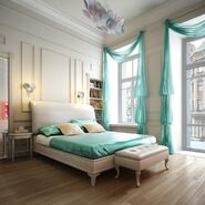 Friendly-idea-for-luxurious-blue-beautiful-bedroom-decors