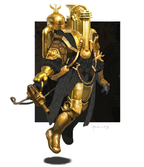 Gold big daddy concept