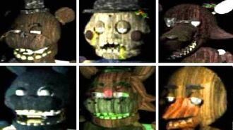 The Return To Freddy's 3 All Animatronics All Jumpscares