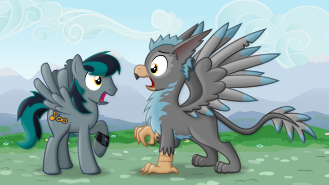 File:Gryph ception gryph meets gryph by blackgryph0n-d67zfqs.png
