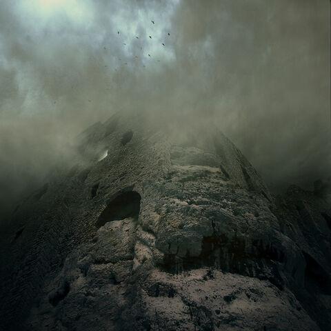 File:Stone Tower reissu in Mist by Karezoid.jpg