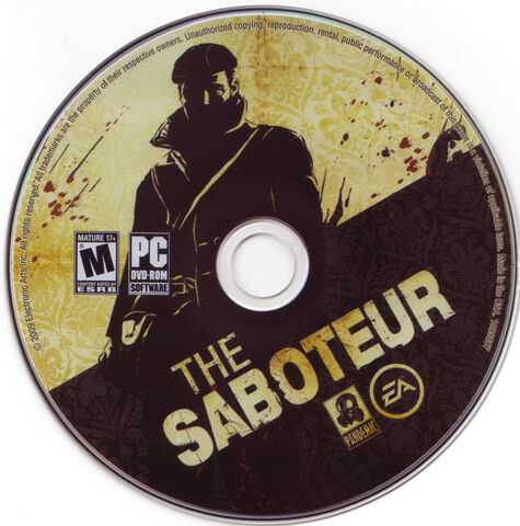 File:The Saboteur dvd.jpg