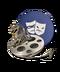 C084 Movie reels i04 Fantasy film reel