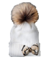 C305 Bad weather protection i05 Hat with pompom