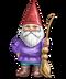 C234 Garden gnomes i02 Gnome broom