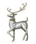C468 Christmas sleigh i04 Vixen figurine