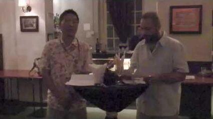 Rascals Prize presentation, IndigNation 2011