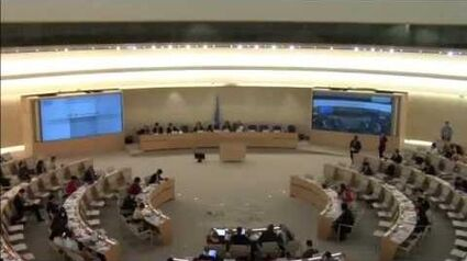 UN Singapore's UPR Report Consideration, 24 June 2016