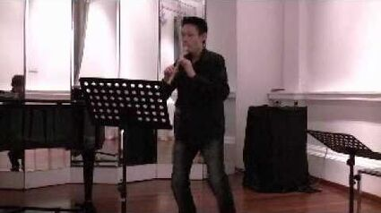 "Jun Zubillaga-Pow performs Tchaikovsky's ""Autumn Song"""