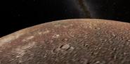 Callisto surface