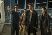 Robbie-Amell-Aaron-Woo-Luke-Mitchell-and-Peyton-List-of-The-Tomorrow-People gallery primary-2