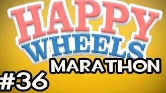 Happy Wheels MARATHON w Nova Ep.36 - Parkour Up The Pooper