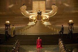 Odin throne-Thor