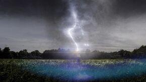 Avengers - Thor summoning Lightning 003