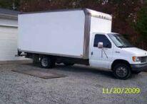 1994 ford e350 box truck 4500 columbia 9709416