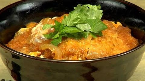 How to Make Katsudon (Pork Tonkatsu Bowl) カツ丼の作り方