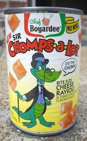 Chef Boyardee Sir Chomps-A-Lot