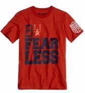 B Fearless t shirt