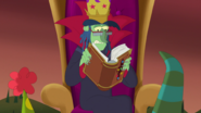S1e24 grudgemunger reads about his own fate