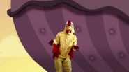S1e24 a man in a chicken suit