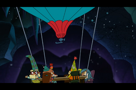 S1e01a Queen Delightful Summons the 7D to Catch the Giant 7