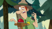 S2e10b 'you guys are telling me you were fishing without a license'