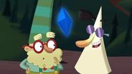S1e24 singing scroll tells doc about the indigo gem