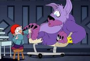 S2e15b dopey giving the beast a manicure